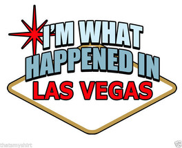 New Cute I'm What Happened In Vegas Kids T-Shirt Infant Toddler - $14.55