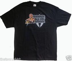 New Luchadors Do It Faster Mens T-Shirt Size Medium - $12.35