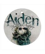 Aiden Round Porcelain Ornament  - $9.99