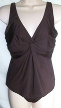 COCO REEF COFFEE BEAN TANKINI AND CLASSIC BOTTOM, SIZE MEDIUM/32C - $18.95