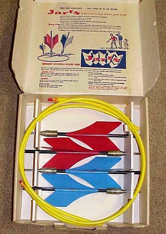 1961 JARTS MISSILE GAME Vintage Yard/Lawn Darts IOB NICE!!!