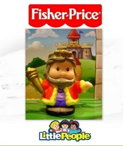 Fisher Price Little People Castle Grey Hair KING LKNEW - $3.95