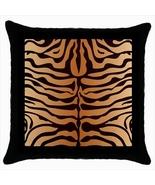 Tiger Custom Throw Pillow Case (Black) - $19.95
