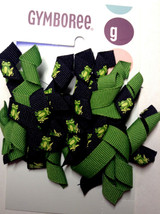 Gymboree Vintage Dandelion Wishes 2 Frog-Ribbon Clip/ Barrettes Curly Nwt Look - $9.95