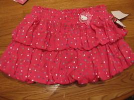 Girls Hello Kitty Dots Bows HK56149 skort 4 pink NWT^^ - $14.84
