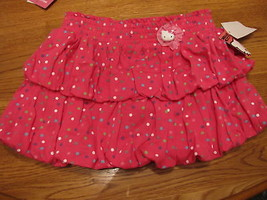 Girls Hello Kitty Dots Bows HK56149 skort 6 pink NWT youth NEW ^^ - $15.45
