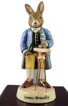 "Royal Doulton Bunnykins Figurine ""James Brindley"" DB438 - $37.50"