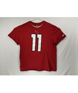 NFL Nike Men's Arizona Cardinals #11 Fitzgerald T-shirt  EUC Size XL Foo... - £13.10 GBP