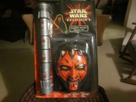 Star Wars Episode 1 Darth Maul Costume Kit NIP Free Shipping - $26.84