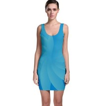 Cute Spiral Petals Tight Fitted Bodycon Dresses - Size & Sleeve Options - $29.09+