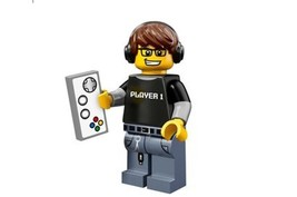 LEGO 71007 MINIFIGURES Series 12 Video Game Guy with unused code - $5.43