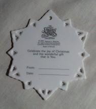 """""""To My Mom"""" Christmas Tag/Ornament - 1991' image 2"""