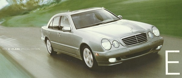 Primary image for 2002 Mercedes-Benz E-CLASS SPECIAL EDITION brochure catalog folder E 320 430
