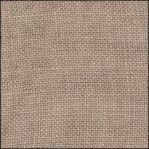 FABRIC CUT 30ct creek bed brown 11x13 for One More Stitch LHN chartpack  - $9.00