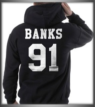 Banks 91 on back Unisex hoodie BLACK - $31.00+