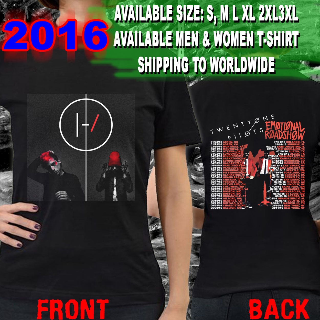 Twenty One Pilots announce US summer tour   Substream Magazine