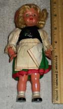 Vintage Hard Plastic Doll - $9.90