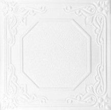 DIY Styrofoam Glue Up Tiles for Ceiling and Wall Decor #R-32 - $3.89