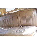 BROUGHAM REAR BENCH SEAT OEM USED ORIG 1987 CADILLAC FLEETWOOD RWD - $475.00