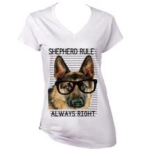 German Shepherd Always Right  New Cotton T Shirt   S M L Xl Xxl - $25.24