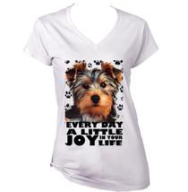 Yorkshire Terrier 1  A Little Joy   New Cotton T Shirt  S M L Xl Xxl - $25.24