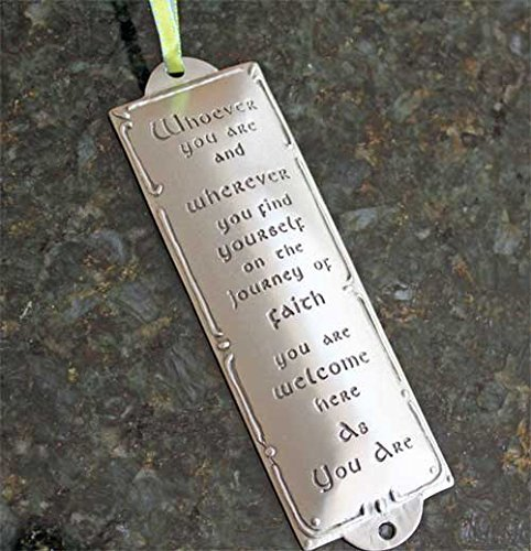 Pewter Room Blessing Plaques By Cynthia Webb - Whoever You Are - Pewter Chris...