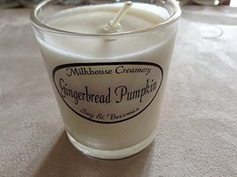 Milkhouse Candle Butter Shot Votive: Gingerbread Pumpkin