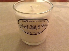 Milkhouse Soy Beeswax Candle - Oatmeal Milk & Honey Butter Shot USA [Kitchen]