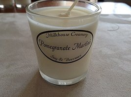 Milkhouse Soy Beeswax Candle - Pomegranate Martini (2.2 Oz Butter Shot) USA