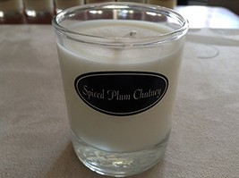 Milkhouse Soy Beeswax Candle - Spiced Plum Chutney Butter Shot USA [Kitchen]