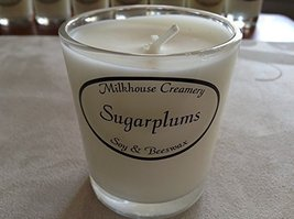 Milkhouse Soy Beeswax Candle - Sugarplums (2.2 Oz Butter Shot) USA [Kitchen]