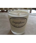 Milkhouse Soy Beeswax Candle - Sugarplums (2.2 Oz Butter Shot) USA [Kitc... - $5.45