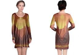 Venus Artemis Chasma Long Sleeve Night Dress - $23.99+