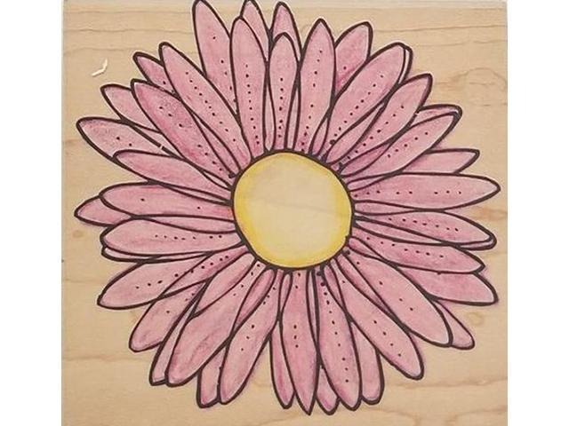 Hero Arts Daisy Blossom Rubber Stamp #S4157