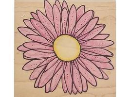 Hero Arts Daisy Blossom Rubber Stamp #S4157 image 1