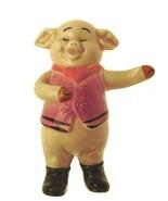 Danbury Mint 9cm pig figurine Piggies collection Pigoletto - $22.94