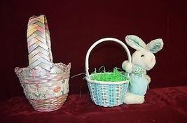 Two nice wicker baskets: Spring like 10 x 10 & ... - $11.86