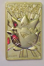 1999 Pokemon Gold Plated Trading Cards - Togepi - $11.95