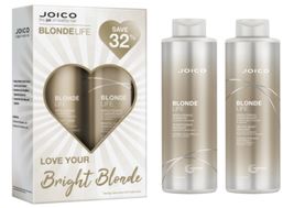 Joico Blonde Life Brightening Shampoo, Conditioner Liter Duo - $51.00