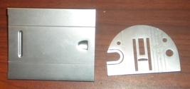 Singer Merritt 3130 6mm Zig Zag Throat Plate w/Slide & Spring w/Screw - $15.00
