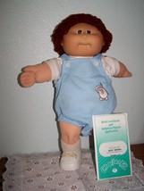 1984 Cabbage Patch Kid Doll Brent Donovan Auburn Loop Hair Brown Eyes Nov 1 Cpk - $94.05