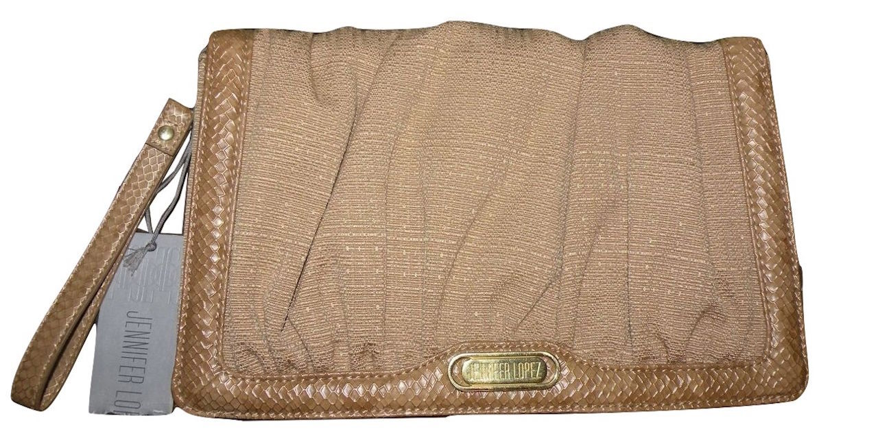 f92ffd52fe274e Jennifer Lopez Purse Clutch Gold Linen and and 50 similar items