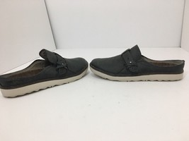 Merrell Around Town Slip On Granite Leather Comfort Women's Shoes Size 7.5 M - $44.68