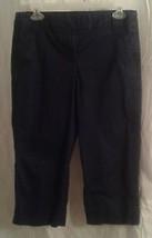 J Crew 2 Blue Denim Capri Jeans Pants Stretch - $22.00