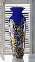 15136 Summertide Art Glass Vase - $69.95