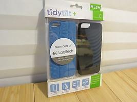 Logitech Mesh Tidytilt w/ Earbud Cord Wrap, Stand/Mount iPhone 5/5s Blue... - $12.19