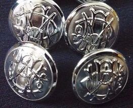 8 Vintage Silver Chrome Color Western Electric ... - $15.08