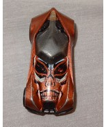 Hot Wheels Brown Car Skull  Malaysia 2008 Mattal - $18.94