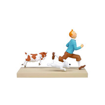 Tintin & Snowy Tintin and the Goat Resin Figure, Figurine (NEW) - $665.73