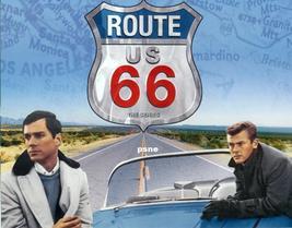 Martin Milner  George Maharis  Route 66  11 X 14  Custom Poster  5-404 - $15.99